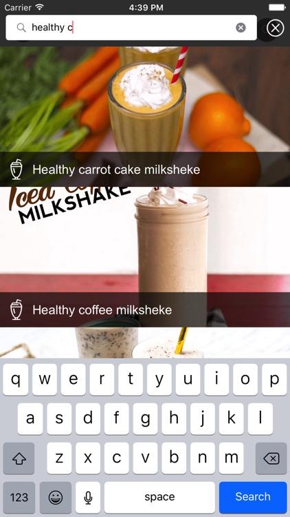 Milk Shake Recipe - Sugar Free screenshot-4