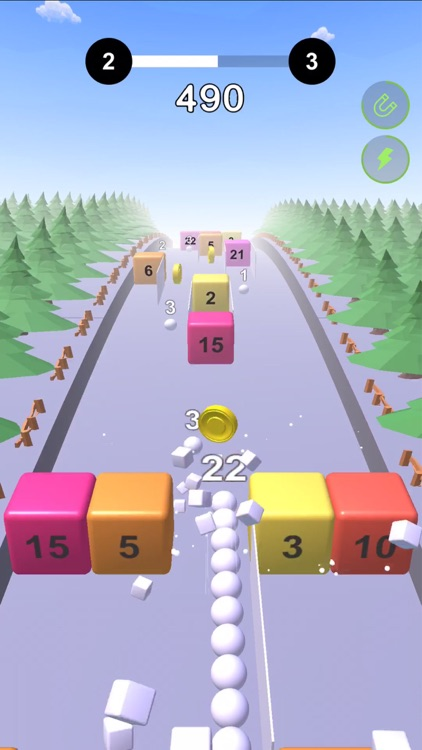 Snake VS Cube -Fun Endless Run screenshot-4