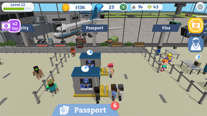Idle Customs: Protect Airport screenshot 4