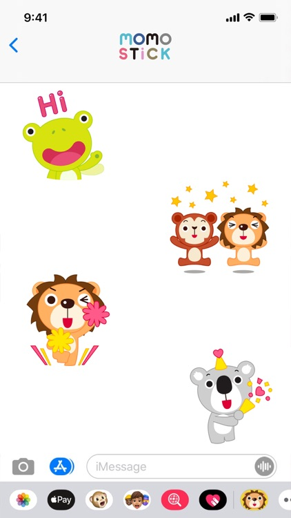 MOMO Friends Stickers