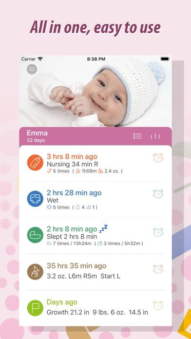 Baby Tracker Pro (Newborn Log) Screenshot