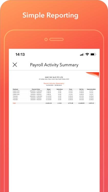 Easy Payslip Payroll STP screenshot-8