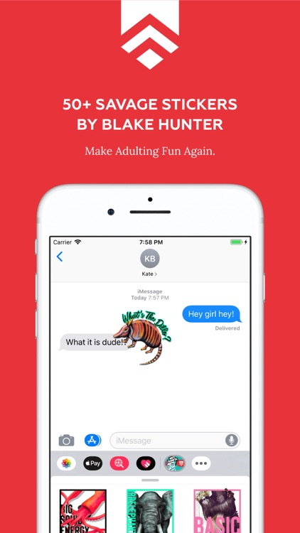 Blake Hunter Sticker Pack