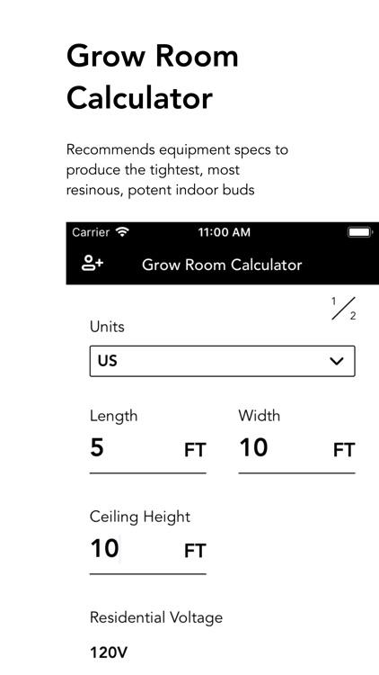 Grow Room Calculator