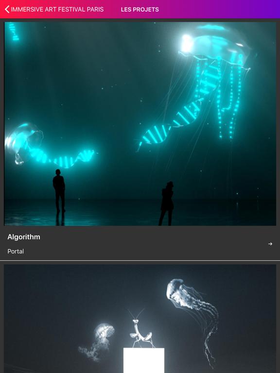 Immersive Art Festival Paris screenshot 9