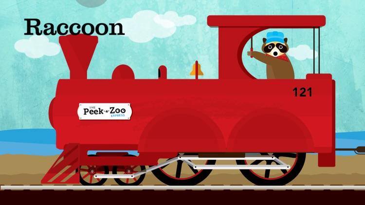 Peek-a-Zoo Train