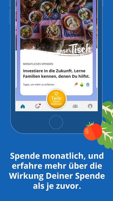 Screenshot for ShareTheMeal in Germany App Store