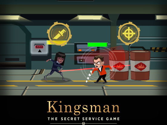 Kingsman - The Secret Service на iPad