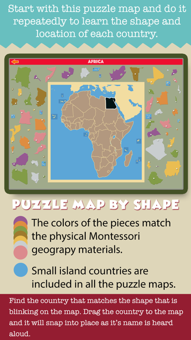 Montessori Ultimate Geography screenshot 5