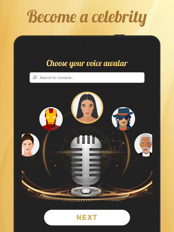 Voicy: Celebrity Voice Changer by Fun apps4you (iOS, United