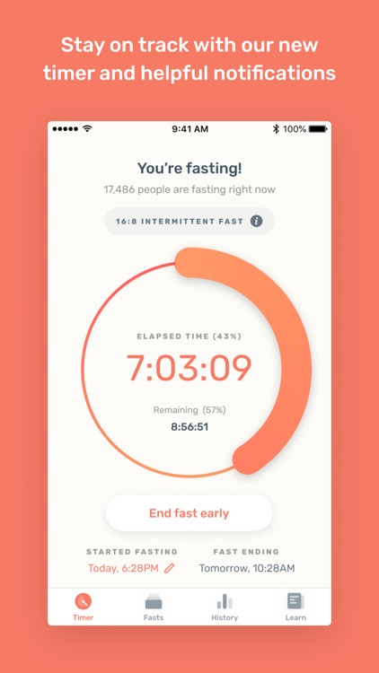 Zero - Fasting Tracker screenshot-0