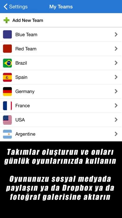 Screenshot for Futbol: Taktik Tahtası++ in Turkey App Store