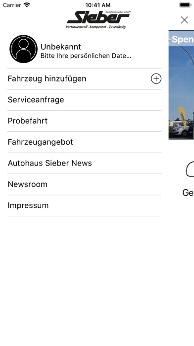 Autohaus Sieber LA - DGF - MAI screenshot 1