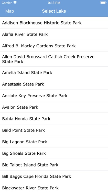 Florida State Parks & Areas screenshot-3