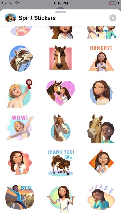 Spirit Riding Free Stickers screenshot-6