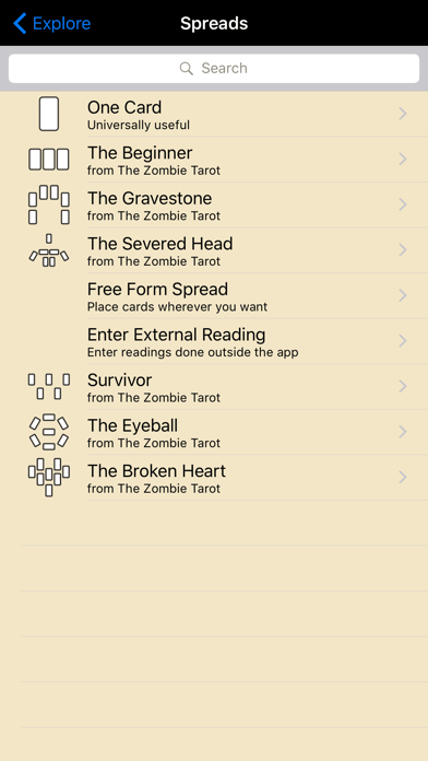Zombie Tarot screenshot three