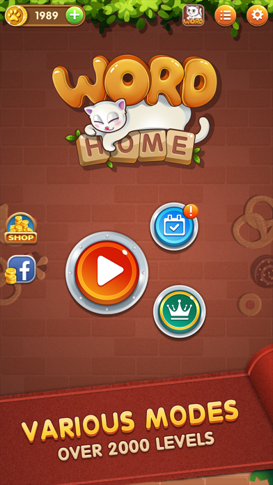 Word Home™ - Connect Letters - 窓用