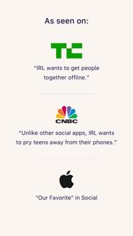 IRL - Social Calendar iphone images