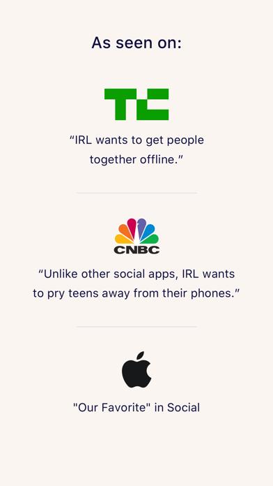 messages.download IRL - Social Calendar software