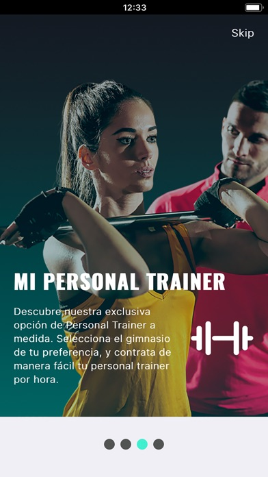 Screenshot for Energy Fitness in Chile App Store