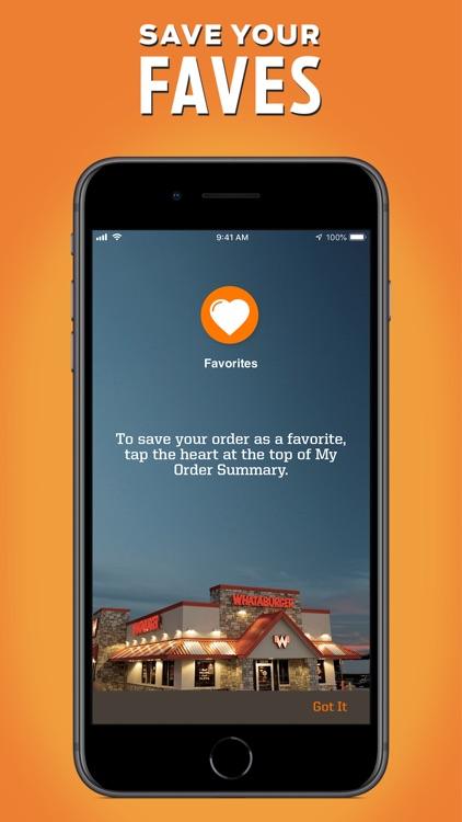 Whataburger screenshot-3