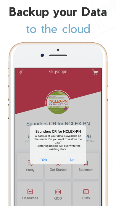 Saunders Comp Review NCLEX PN Screenshot