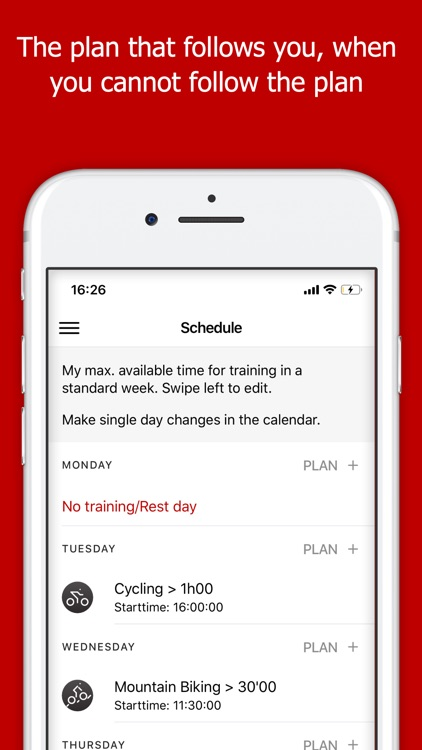 Train2PEAK Training Plan