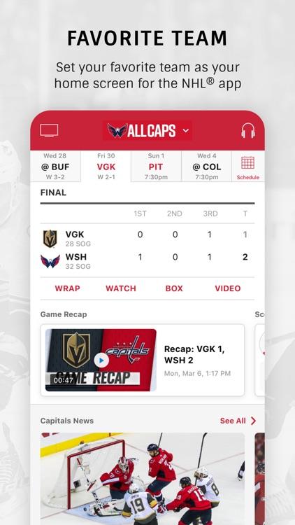 NHL screenshot-1