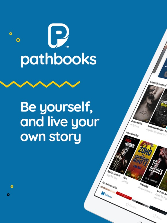 PATHBOOKS  Live your own story screenshot 7