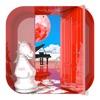 脱出ゲーム 赤い部屋 赤い満月2台のピアノ