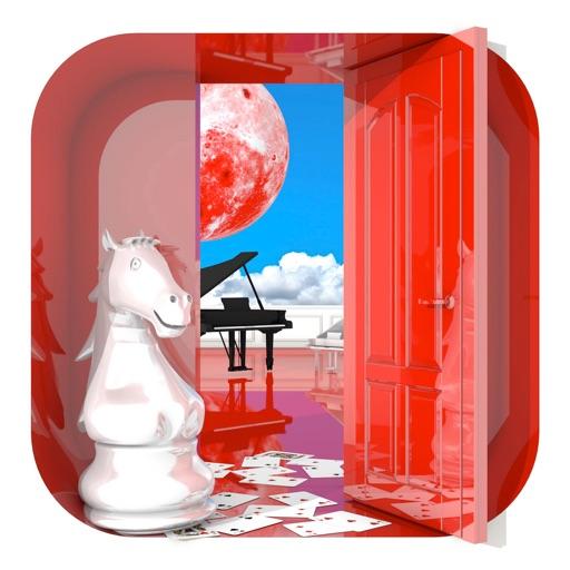 脱出ゲーム 赤い部屋