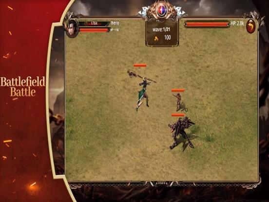 Warrior:Holy Battle screenshot #1