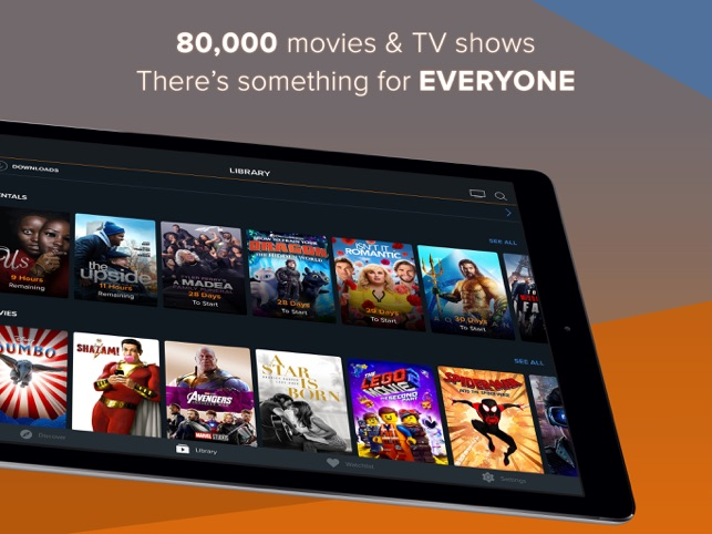 FandangoNOW Movies + TV on the App Store