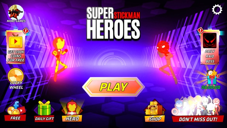 Super Stickman Heroes Warriors screenshot-5