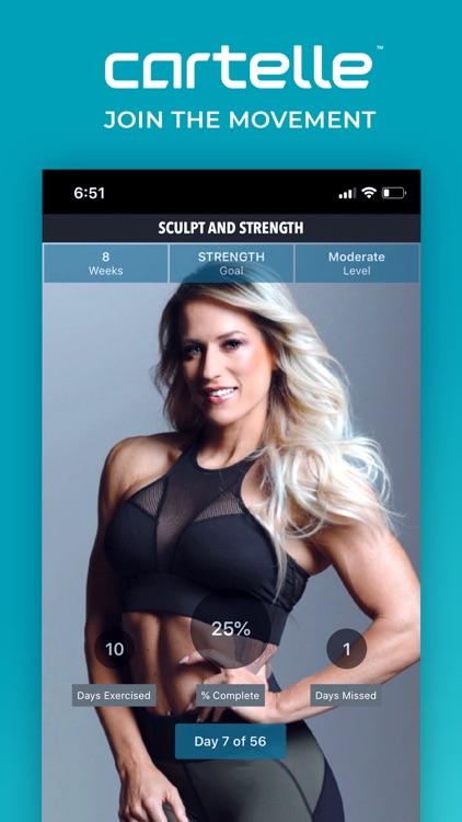 Cartelle #1 In Women Workouts screenshot-6