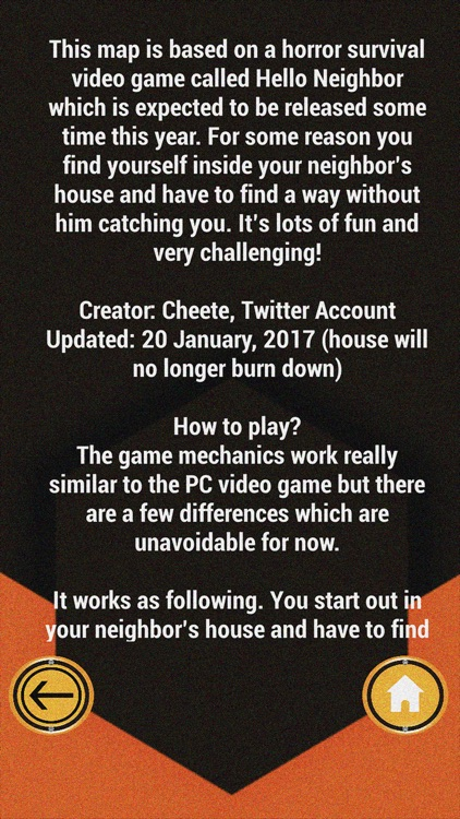 Hi Neighbor Map For Minecraft