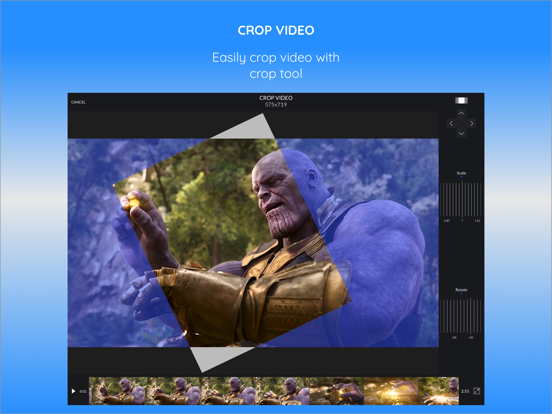 CrVid - Great video editor! Screenshots