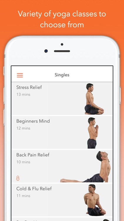 Track Yoga – A Simple Yoga App screenshot-1