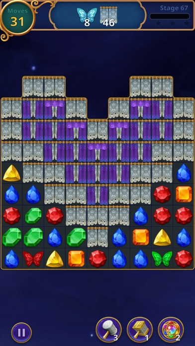 Baixar Jewels Magic: Mystery Match3 para Android