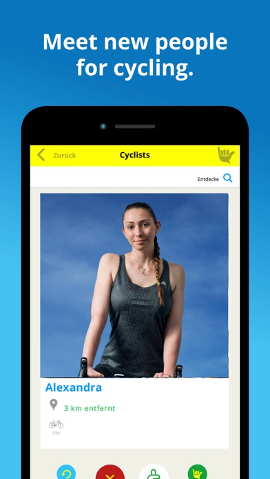 Cyclique Group Rides screenshot two