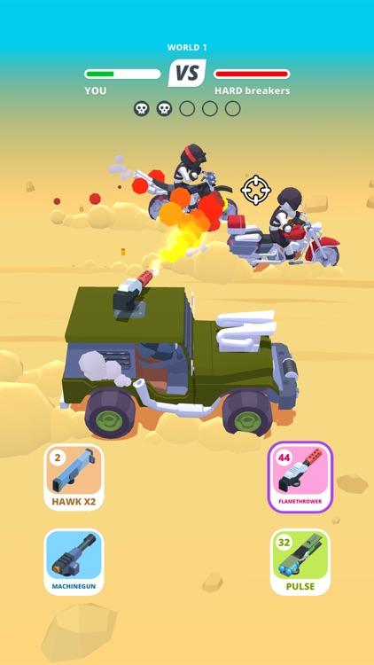 Desert Riders - Wasteland Cars screenshot-4