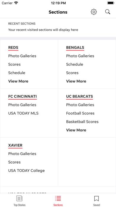 Cincinnati Sports Screenshot