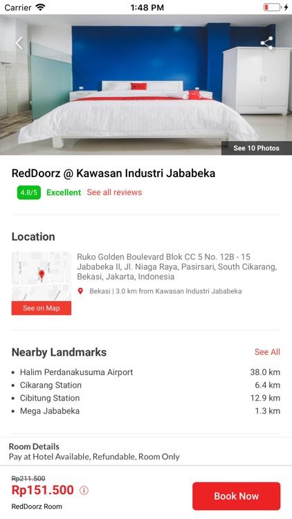 RedDoorz - Hotel Booking App