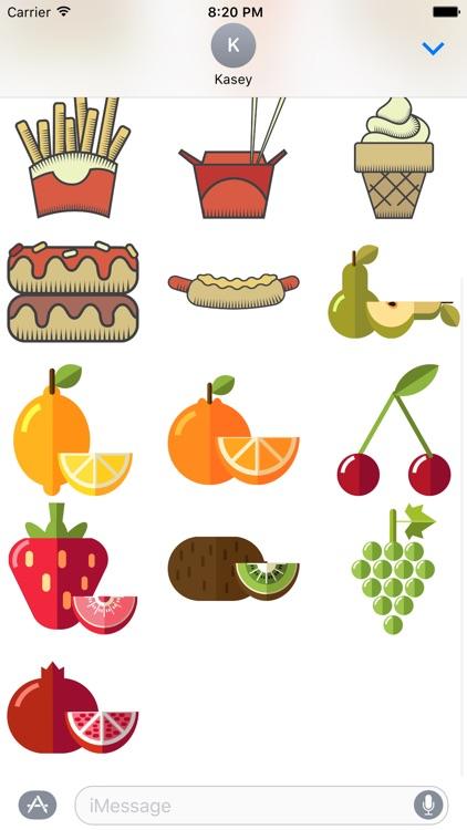 Food Sticker Pack