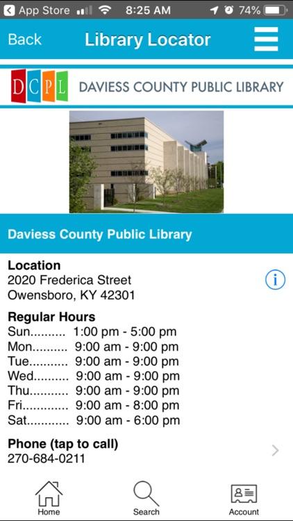 Daviess County Public Library screenshot-4