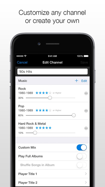 Channels Car Music Player screenshot-4