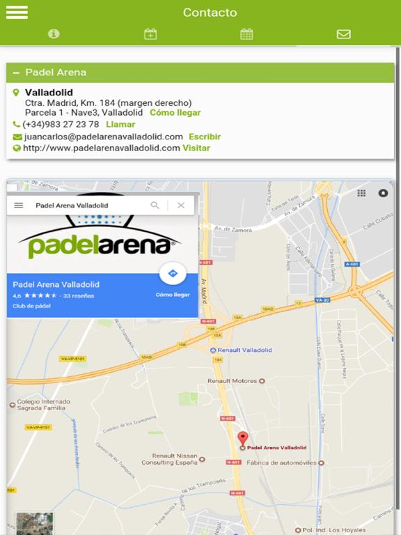 Padel Arena Valladolid screenshot 6