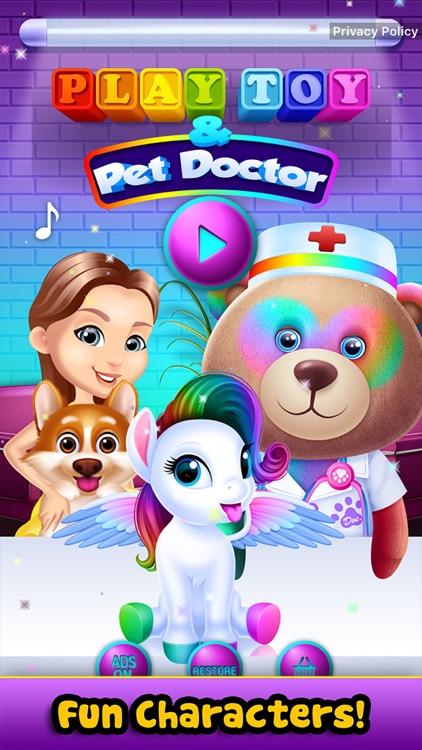Play Toy & Pet Doctor screenshot-0
