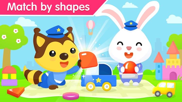Car game for kids and toddler. screenshot-4