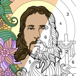 Bible Coloring Paint by Number on the App Store